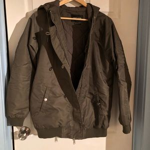 OBEY MILITARY BOMBER-STYLE JACKET